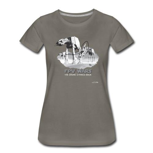 FPV WARS - Drones Strike Back (womens) - Women's Premium T-Shirt
