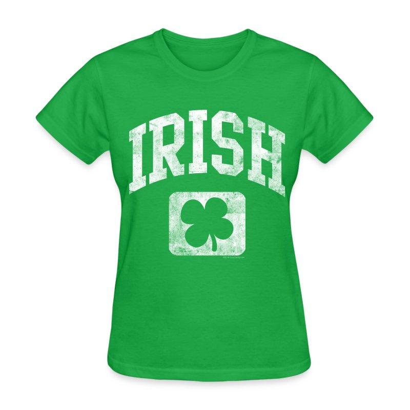 Grunge Irish Logo St Patricks Day - Women's T-Shirt