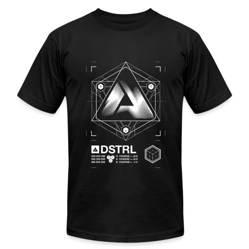 DSTRL PROTON AMERICAN APPAREL T-SHIRT - Men's T-Shirt by American Apparel