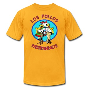 Los Pollos Hermanos - Men's T-Shirt by American Apparel