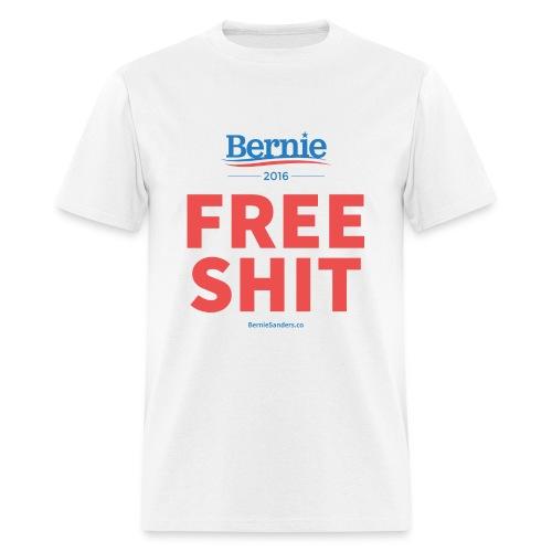 Bernie Sanders: Free Shit - Men's T-Shirt