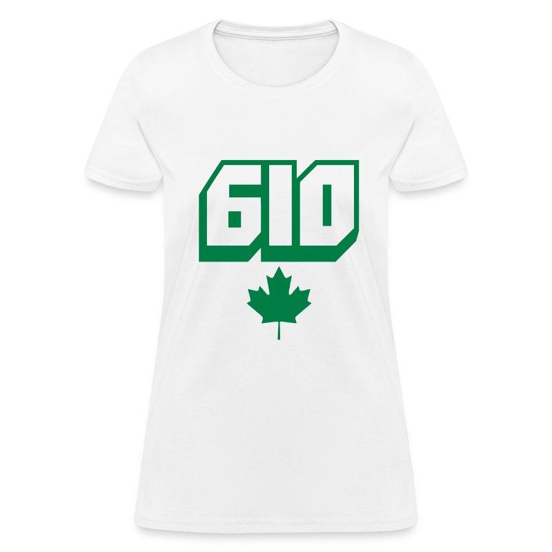 Women's T-Shirt (White) - Women's T-Shirt