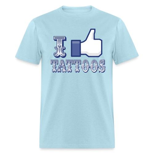 I Like Tattoos tee - Men's T-Shirt