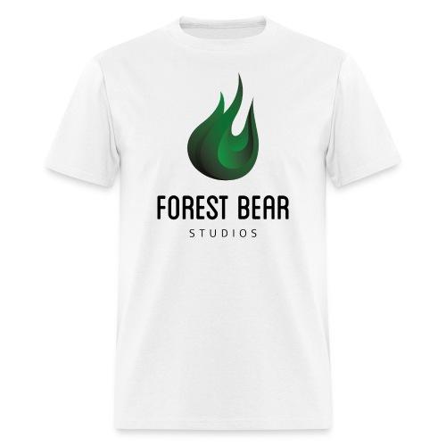Forest Bear Logo Black Text (Male) - Men's T-Shirt
