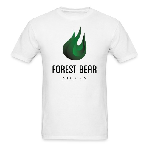 Forest Bear Logo Black Text (Male) - Men's T-Shirt