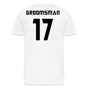 Groomsman 17 - Men's Premium T-Shirt