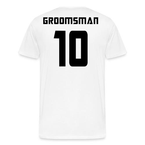 Groomsman 10 - Men's Premium T-Shirt