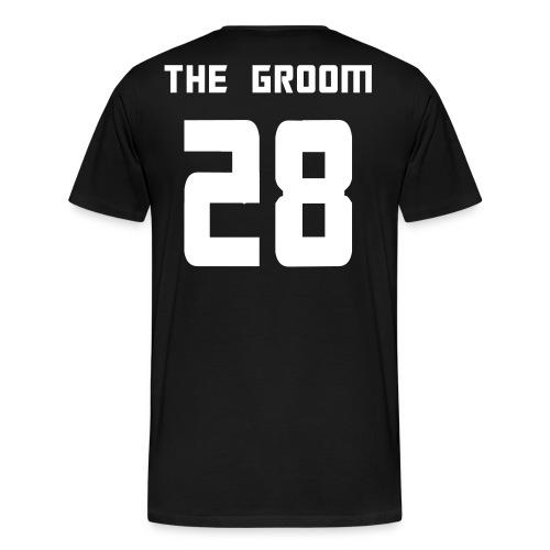 The Groom - Men's Premium T-Shirt