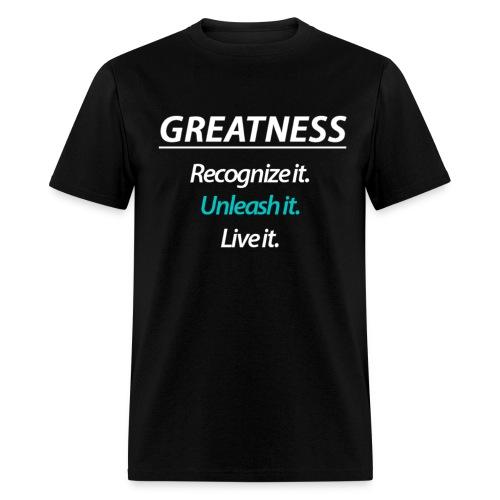 GREATNESS Men's T-Shirt - Men's T-Shirt