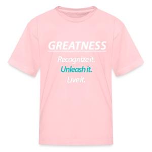 GREATNESS Kid's T-Shirt - Kids' T-Shirt