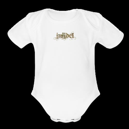 Baby Infidel - Organic Short Sleeve Baby Bodysuit