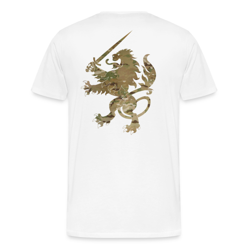 Infidel Lion Multicam - Men's Premium T-Shirt