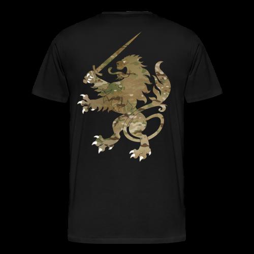 Infidel Lion Multicam - Men's Premium T-Shirt
