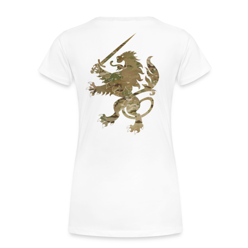 Lady Infidel Lion Multicam - Women's Premium T-Shirt