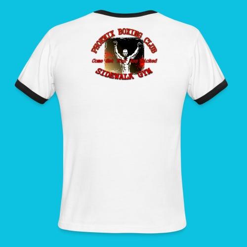 Sidewalk Gym, Phoenix, Az. - Men's Ringer T-Shirt