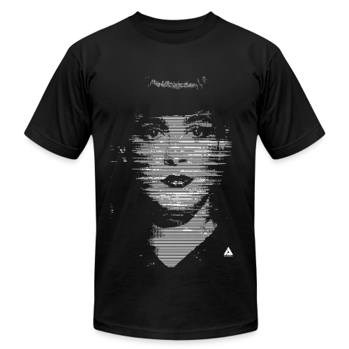 RACHAEL GLITCH AMERICAN APPAREL T-SHIRT - Men's T-Shirt by American Apparel