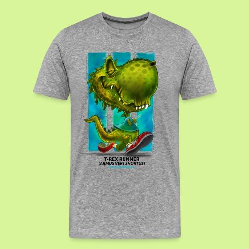 T-Rex runner guys tee - Men's Premium T-Shirt