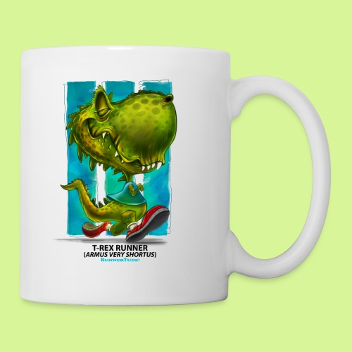 T-Rex runner mug - Coffee/Tea Mug