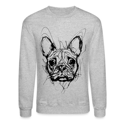 French Bulldog Sweatshirt - Crewneck Sweatshirt