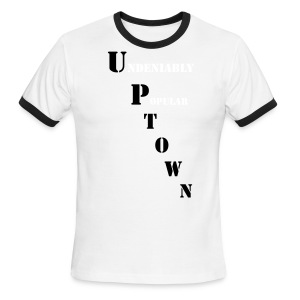 UA14 Uptown Popular tee - Men's Ringer T-Shirt