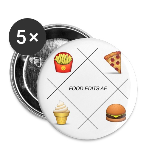 FOOD EDITS PIN - Small Buttons