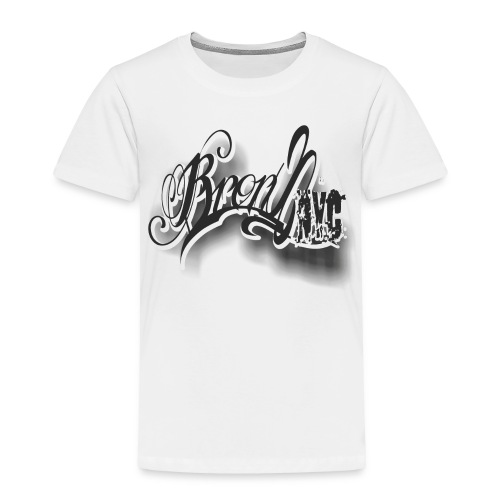 UA14 Young BRONX tee - Toddler Premium T-Shirt