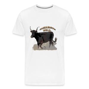 Camargue black bull   - Men's Premium T-Shirt