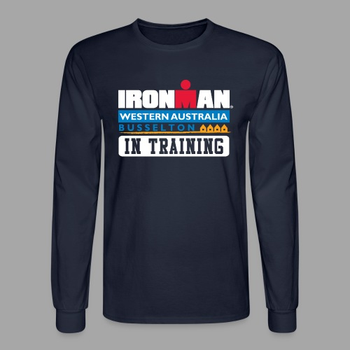 IM Western Australia In Training Men's Long Sleeve T-shirt - Men's Long Sleeve T-Shirt