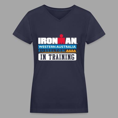 IM Western Australia In Training Women's V-Neck T-shirt - Women's V-Neck T-Shirt