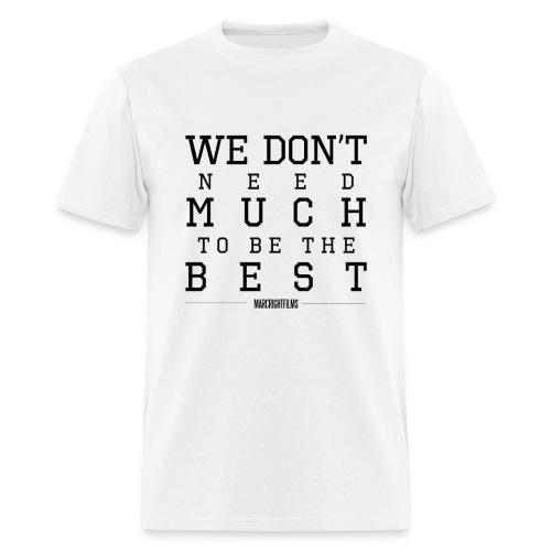 White - THE BEST - Men's T-Shirt