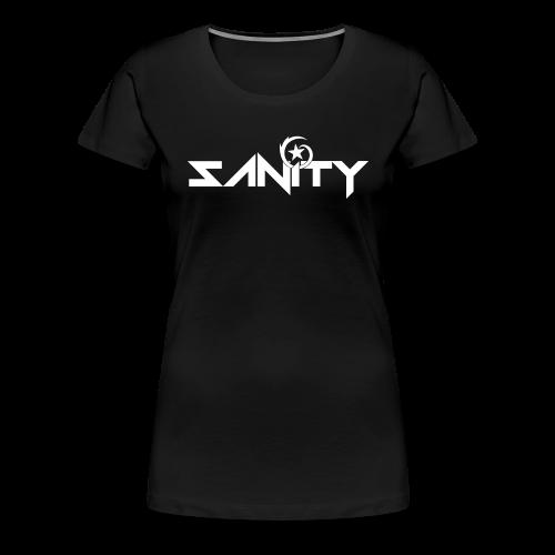 SANiTY Logo Tee - Women's - Women's Premium T-Shirt