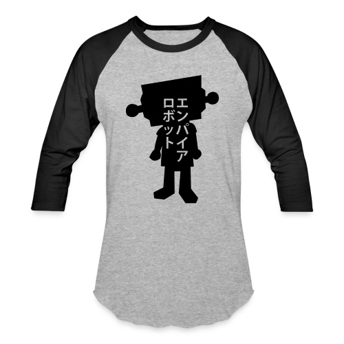 Kanji Robot BaseBall Tee - Baseball T-Shirt