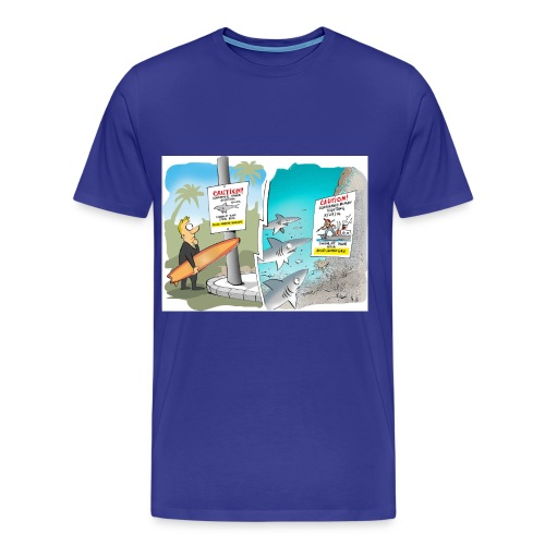 Avoid Human Race! - Men's Premium T-Shirt