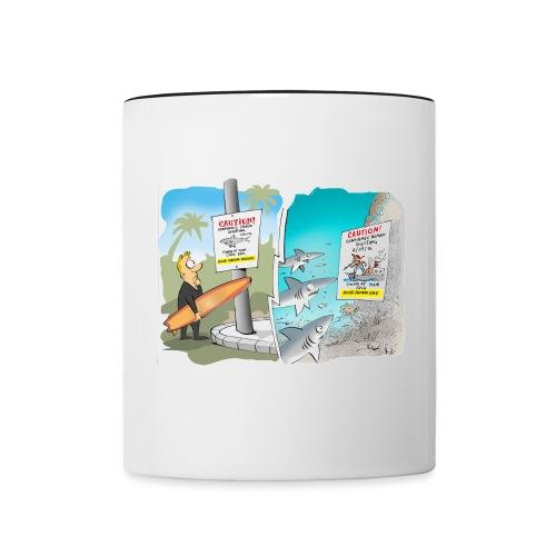 Avoid Human Race! - Contrast Coffee Mug