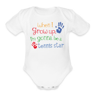 Baby Bodysuits ~ Baby Short Sleeve One Piece ~ Article 104486343