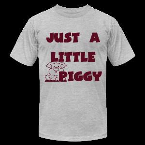 0212 - Lil Piggy  - Men's Fine Jersey T-Shirt