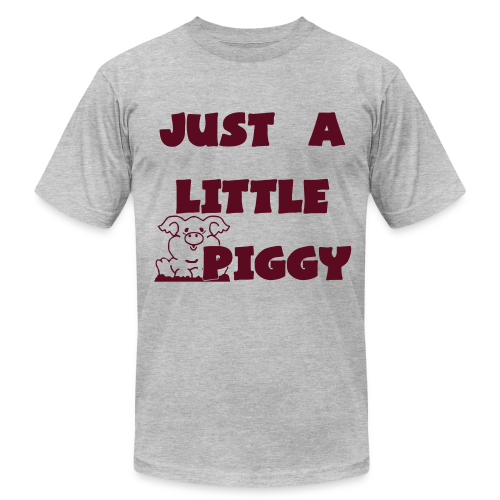 0212 - Lil Piggy  - Men's  Jersey T-Shirt