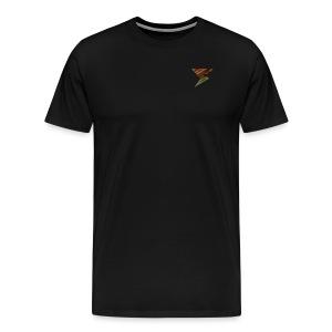 Spikes Custom Name - Men's Premium T-Shirt