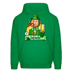 Paddy celebrates St. Patrick's Day - Men's Hoodie