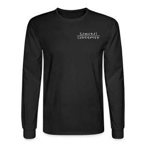 Premium Long Sleeve Samurai Carpenter - Men's Long Sleeve T-Shirt