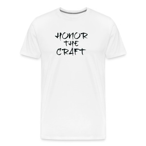Premium T-Shirt Honor The Craft Logo - Men's Premium T-Shirt