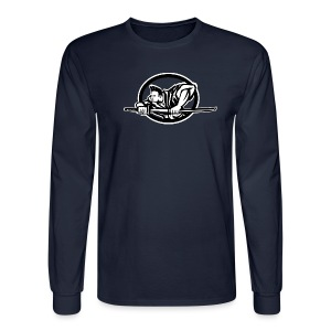 Premium Long Sleeve Crest Logo - Men's Long Sleeve T-Shirt