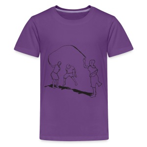 kids-skipping premium - Kids' Premium T-Shirt