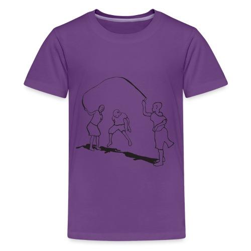 kids-skipping premium - Kids' Premium T-Shirt