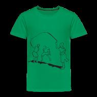 Baby & Toddler Shirts ~ Toddler Premium T-Shirt ~ toddlers-skipping