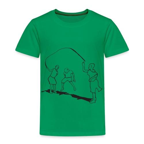 toddlers-skipping - Toddler Premium T-Shirt