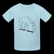 Kids' Shirts ~ Kids' T-Shirt ~ kids-skipping