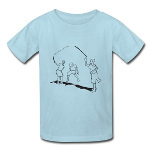 kids-skipping - Kids' T-Shirt