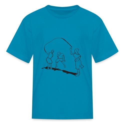 kids-skipping - Kids' T-Shirt