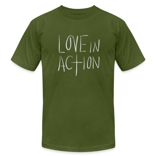 Love In Action - Men's  Jersey T-Shirt